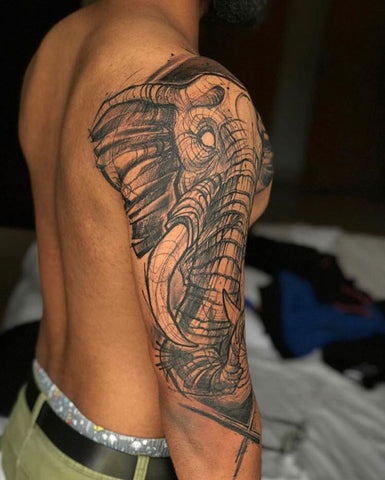 Mettle ink Tusker Tattoo 3