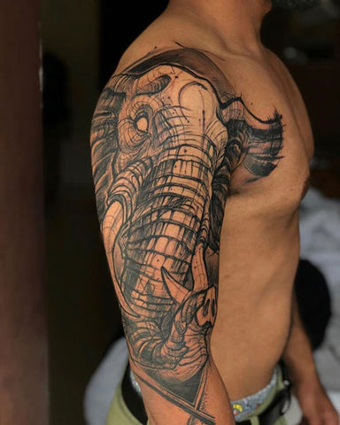 Mettle ink Tusker Tattoo 2