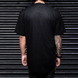 Black Casual Slim Fit Half Sleeve & Colar less Shirt -Haul Apparel