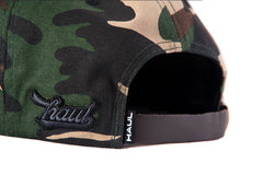 Brown Camouflage Snapback-Back - Haul Apparel