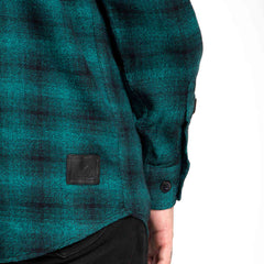 Forest Green Flannel Shirt