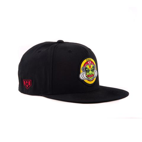 Kathakali Black Snapback Cap - Side - Haul Apparel