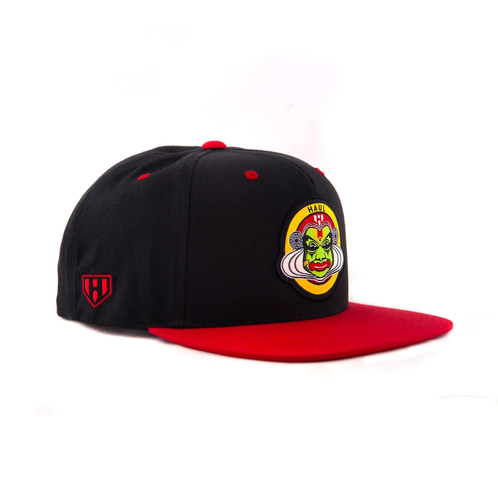 e4e339428be546 Buy Indian Kathakali Caps in india online ( Haul Apparel ) Red & Black  Colour