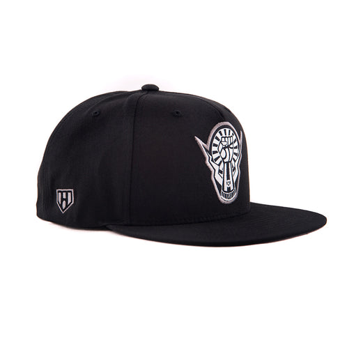 Left Fist Snapback-Side - Haul Apparel