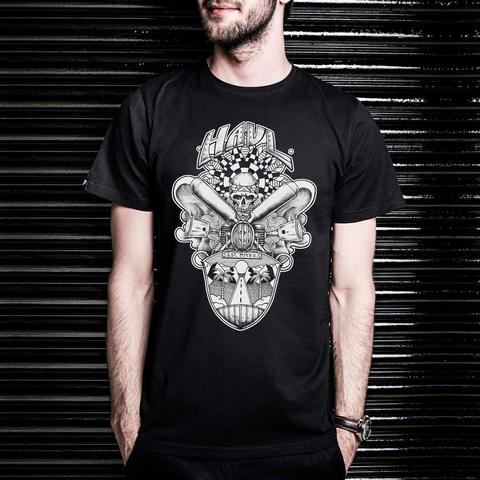 Road Rager Black T-Shirt