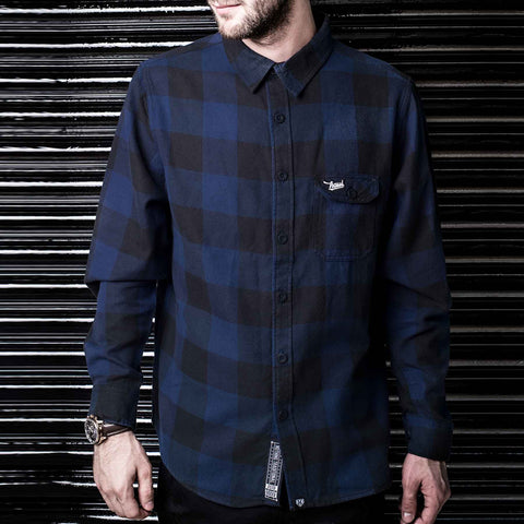 Black & Blue  Flannel Shirt