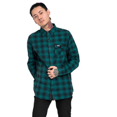 Shop Online forest green flannel shirt,casual shirts for men In India - Haul Apparel