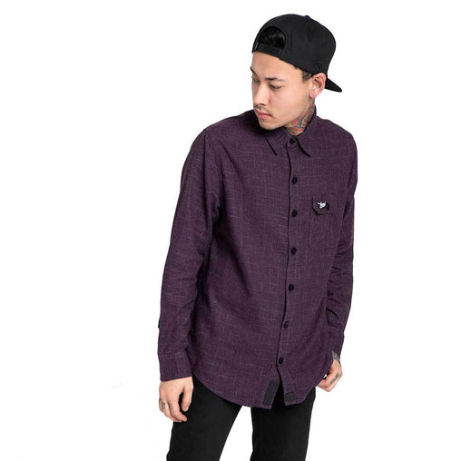 Shop Online purple wine flannel shirt,casual shirts for men In India - Haul Apparel