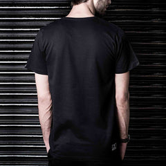 Black Tshirt Haul Apparel Maha Tantra Skater Tshirt in India