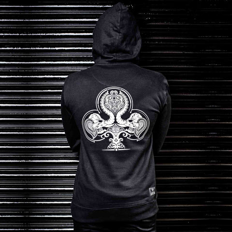 Buy Black Graphic Hoodie in India Online By Haul Apparel