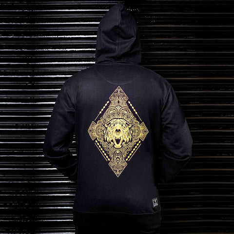 Shop Online India Quality Black Hoodie - Haul Apparel