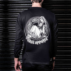 Shop online for graphic  long sleeve tshirt streetwear ( Haul Apparel )