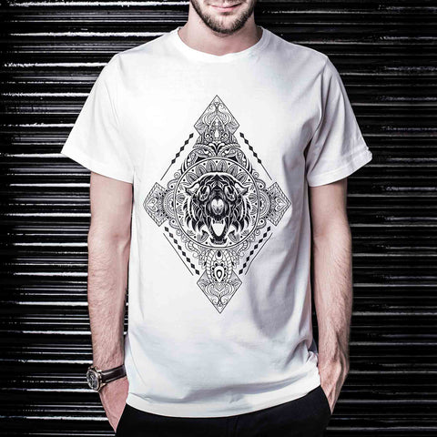 Diamonds T-Shirt (White) - Haul Apparel India