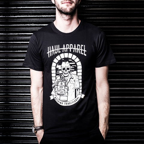 Buy Dabba Wala half sleeves T-shirt in India, Shop OnlinePrinted Indian Streetwear T-Shirts