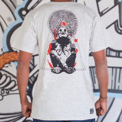 Aztec Graphic Designer Half Sleeve Tee Back