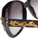 D&G Dolce & Gabbana womens 0DG4167 Cat eye Sunglasses