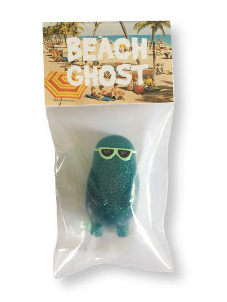 Beach Ghost Green Glitter
