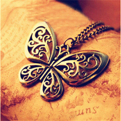 Necklace Butterfly Fairy Jewelry -  Women