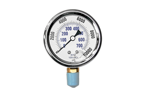 5,000 PSI Bottom Mount Pressure Gauge