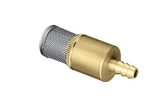 SS & Brass Chem Filter w/ Check Valve