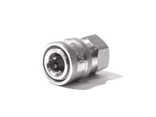 Stainless Steel QC Coupler 3/8