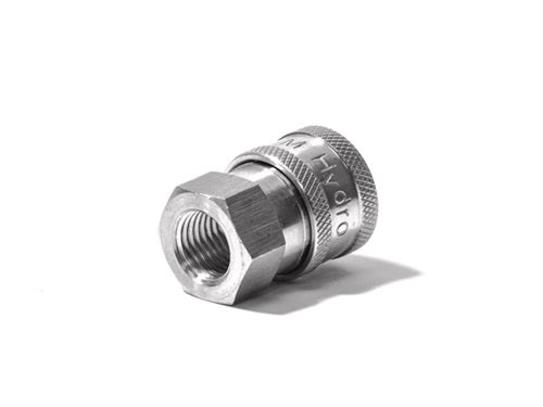 Stainless Steel QC Coupler 1/2