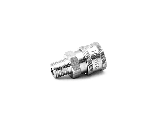 Stainless Steel QC Coupler 1/4