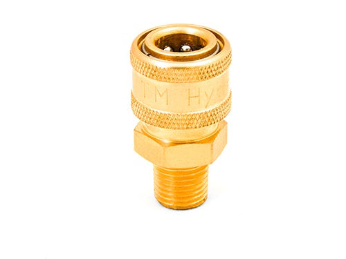 Brass QC Coupler 1/4