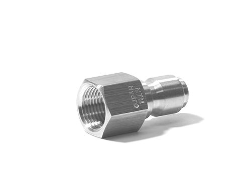 Stainless Steel QC Plug 3/8