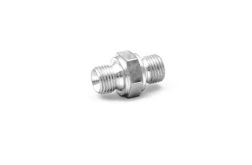 Steel Plated Fitting 1/4