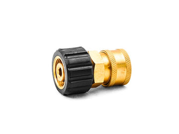 MTM Hydro M22 14mm Twist Coupler x 3/8