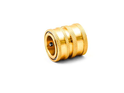 Brass Garden Hose QC Coupler