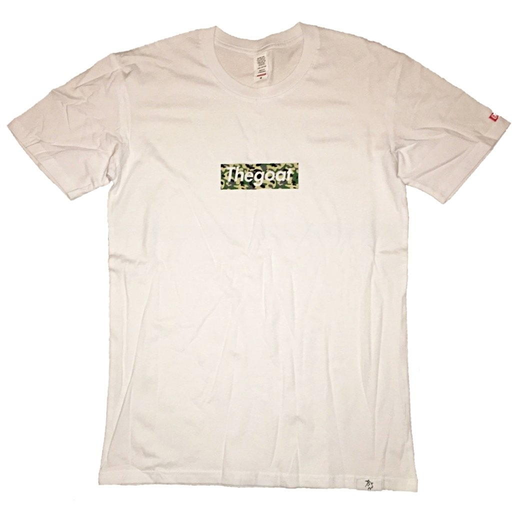 *LIMITED* GOAT BRAND COTTON ARMY CAMO White BOGO
