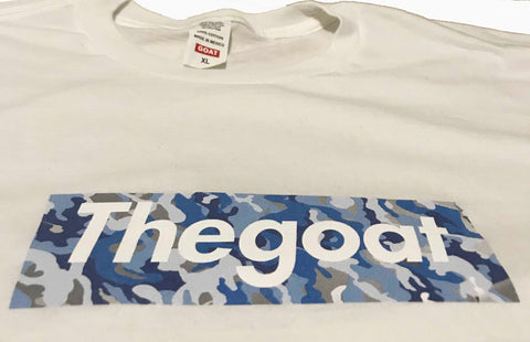 *LIMITED* GOAT BRAND COTTON BLUE CAMO BOGO