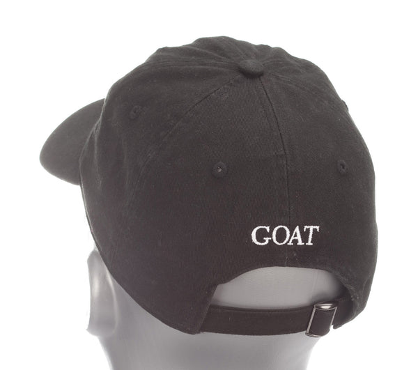 Black Cotton with GOAT Logo