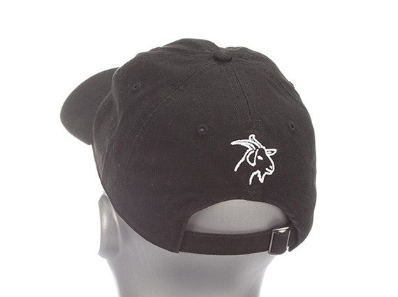 Black Lightweight Polyester SPF 50 with GOAT Emblem
