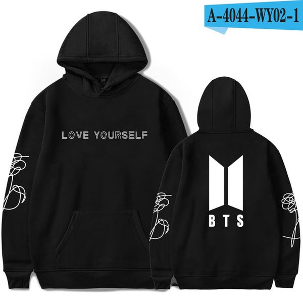 *COLLAB* LIMITED BTS LOVE YOURSELF HOODIE