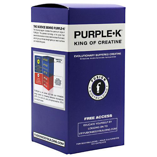 Fusion Bodybuilding PURPLE K