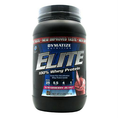 Dymatize Elite 100% Whey Protein Strawberry Blast