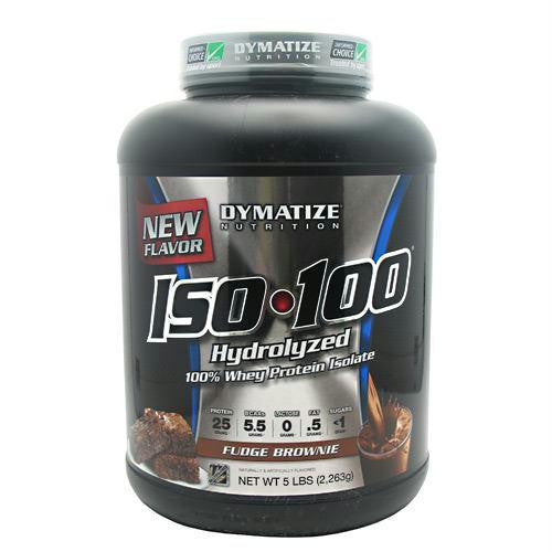 Dymatize Iso-100 Fudge Brownie