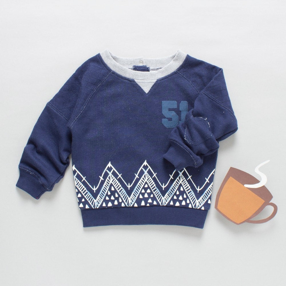 Toddler Boys '51' Sweatshirt