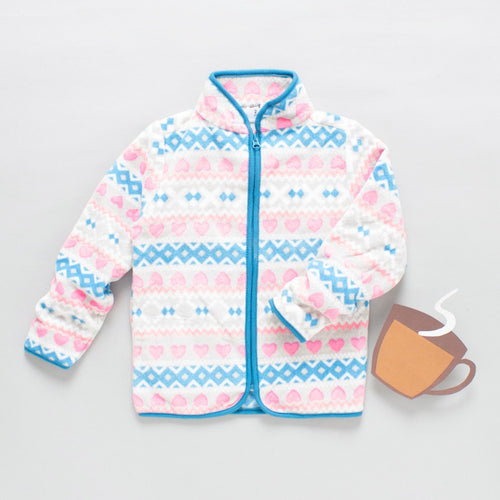 Toddler Girl 'Triangle' Jacket