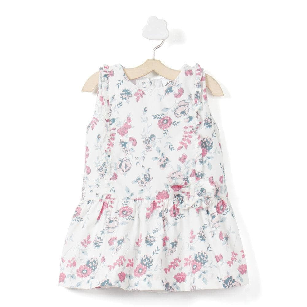 Baby Girl 'Ruana' Dress