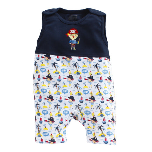 Baby Boy 'Anchor' Romper