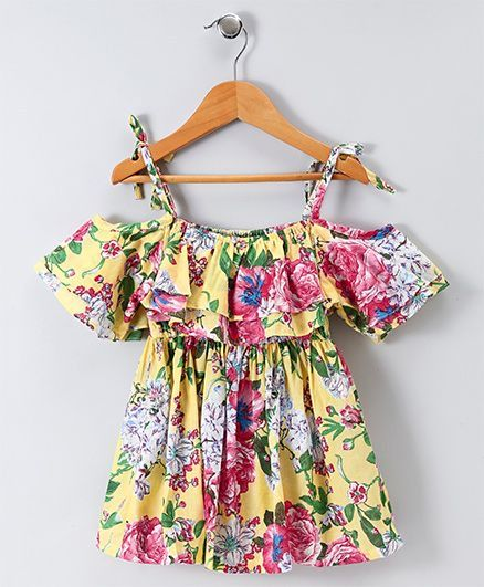 Toddler Girl 'Sping Time' Dress