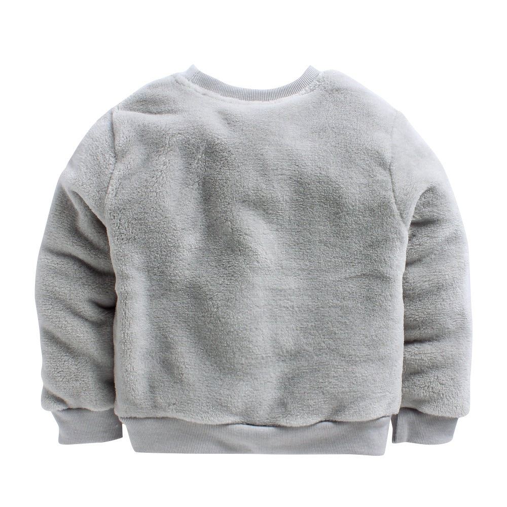 Toddler Boy 'Coach' Fleece T-Shirt