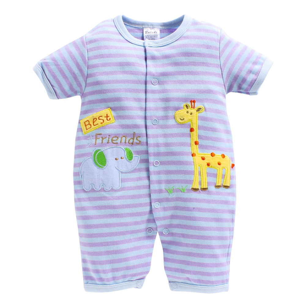 Baby Girl 'Best Friend' Romper