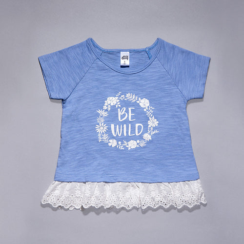 Toddler Girl 'Be Wild' Top