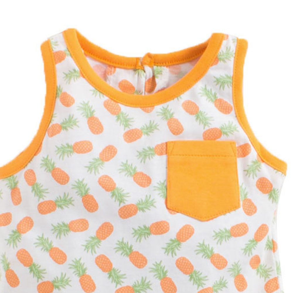 Toddler Girl 'Pineapple' Printed Dress