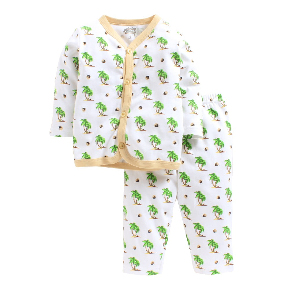 Toddler Girl 'Coconut' Cotton Pyjama Set